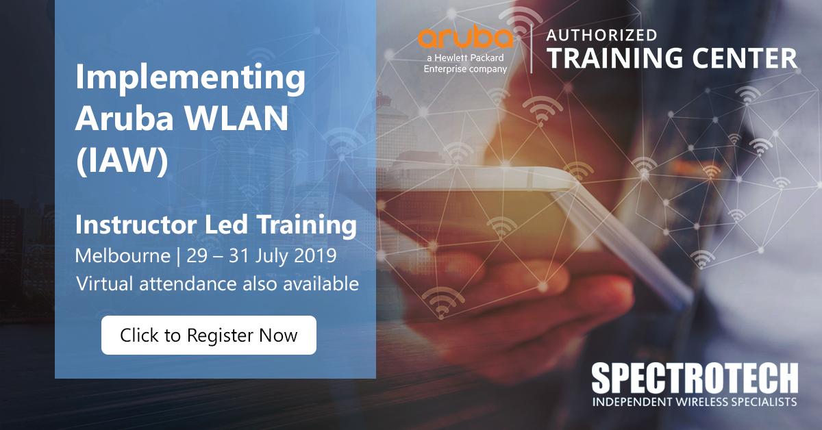 IAW Implementing Aruba WLAN training