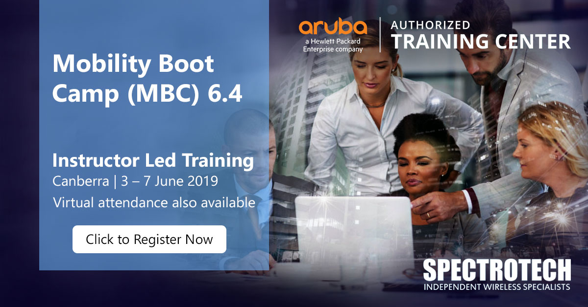 Aruba Mobility Boot Camp MBC 6.4