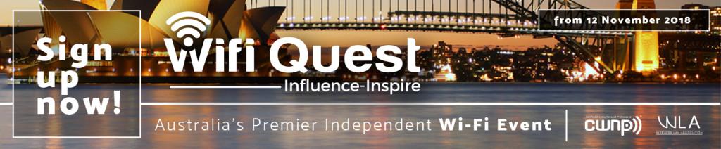 WiFi Quest Conference Australia