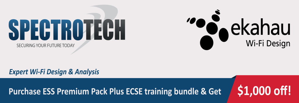Ekahau ESS plus ECSE bundle
