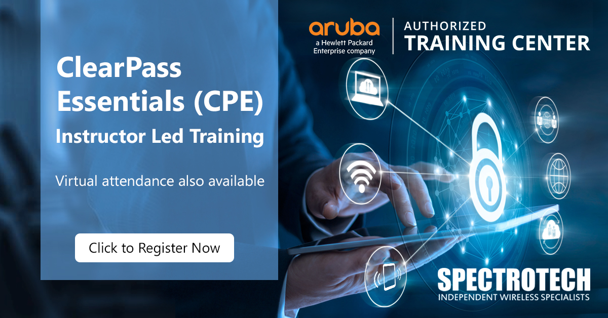 CPE Aruba ClearPass Essentials