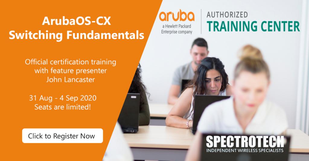 Aruba OS CX Switching Fundamentals CXF