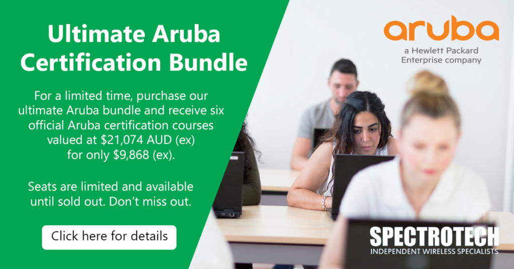 Aruba training, Aruba certification, Aruba bundle, Aruba bundles